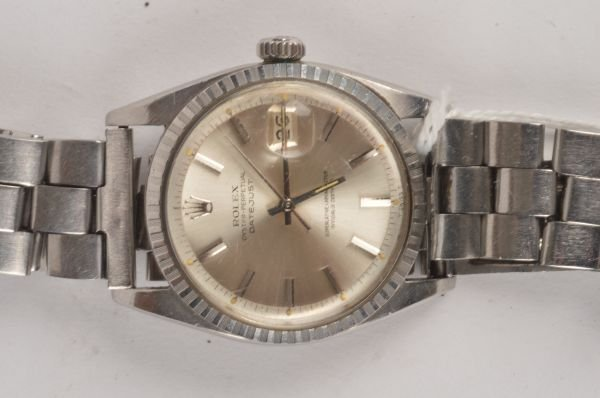 A gent's Rolex Oyster perpetual steel wristwatch,