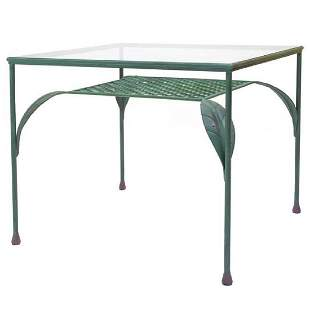 A Branzi Wrought Iron Table Prototype