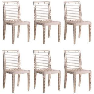 G Centazzo Six Leonardo Chairs Valcucine