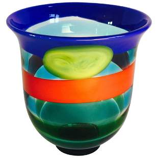 Salviati Murano Glass Vase
