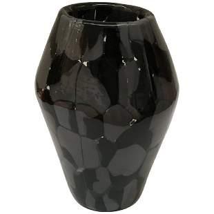 T Zuccheri Sassi Vase by De Majo Murano