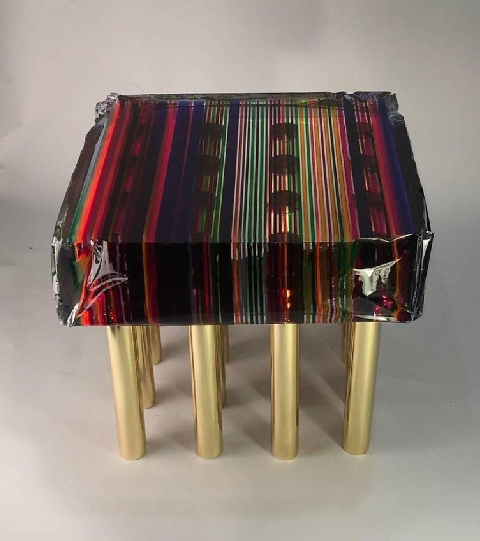 Rainbow Coffee Table by Studio Superego - 4