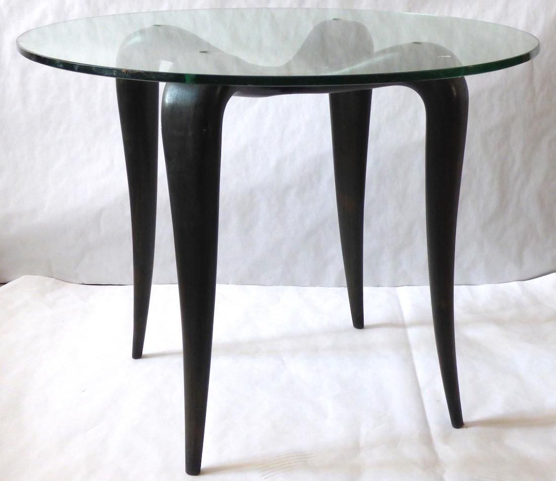 Coffee Table, 1950, in the style of Borsani.