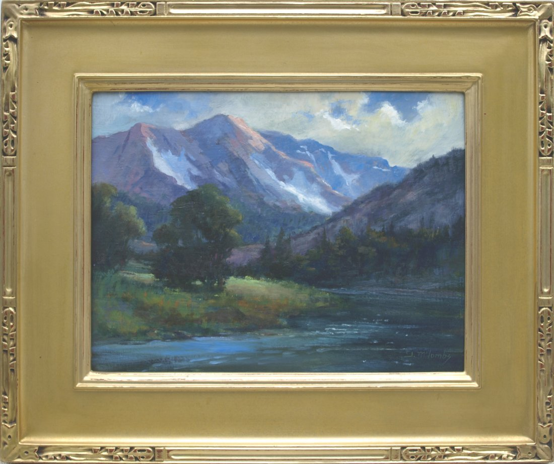 Judy McCombs, oil/canvas/board.