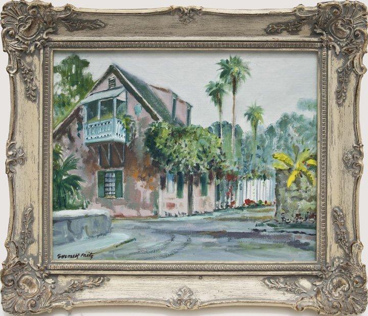Emmett Fritz, Prince Murat House, St. Augustine, FL