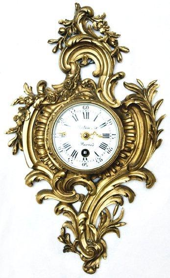 """Balhazar Paris Clock, 10"""" x 6"""" x 2""""."""