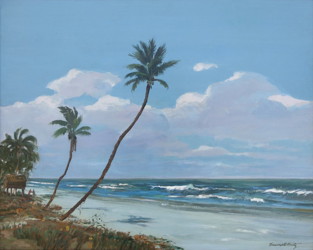 "Emmett Fritz, ""In the Keys"", Oil/Canvas, 22"" x 28"""