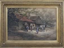 Frank English, The Farrier Shop (circa 1890)