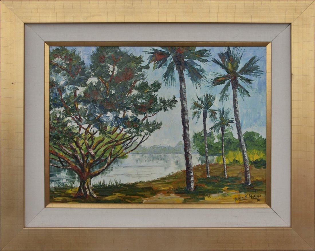 Pierre Henri Matisse, The Burning Bush, Oil/Canv
