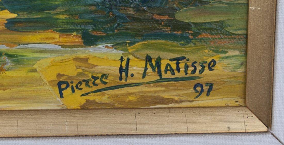 Pierre Henri Matisse, The Burning Bush, Oil/Canv - 3