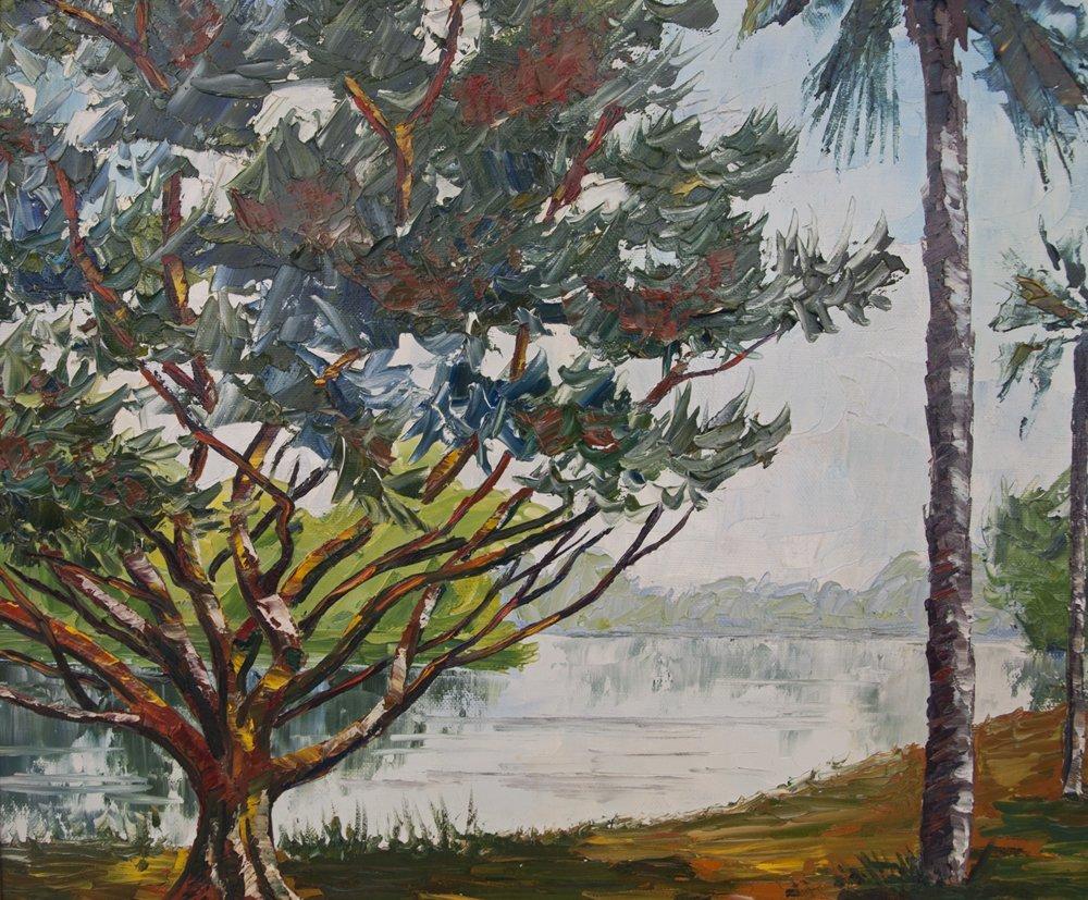 Pierre Henri Matisse, The Burning Bush, Oil/Canv - 4