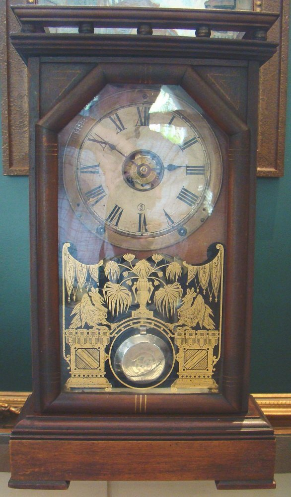 Mid 19th Century Mantle Clock