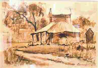 Emmett Fritz �Mud Painting�