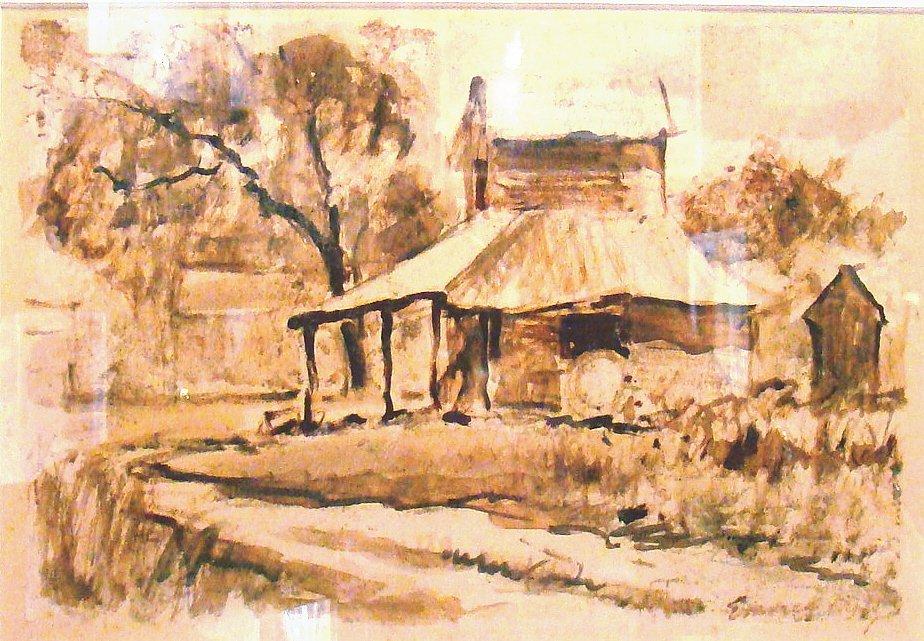 "Emmett Fritz ""Mud Painting"""