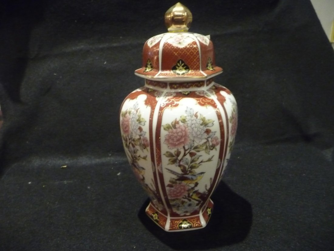 Chinese Temple Vase