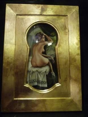 Tatiana Kovgenko Keyhole Plaque