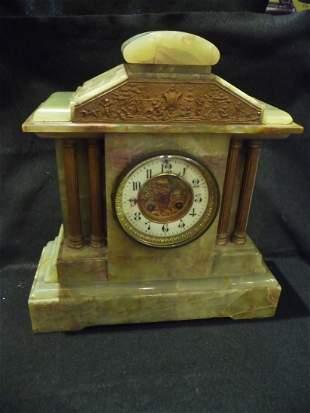 Onyx Clock Early 1900's