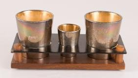Reed and Barton Sterling Cups