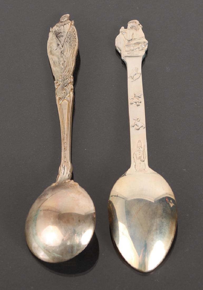 Seven Tiffany Sterling Souvenir Spoons - 4