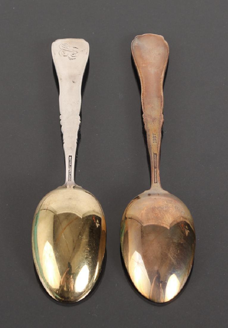Seven Tiffany Sterling Souvenir Spoons - 6