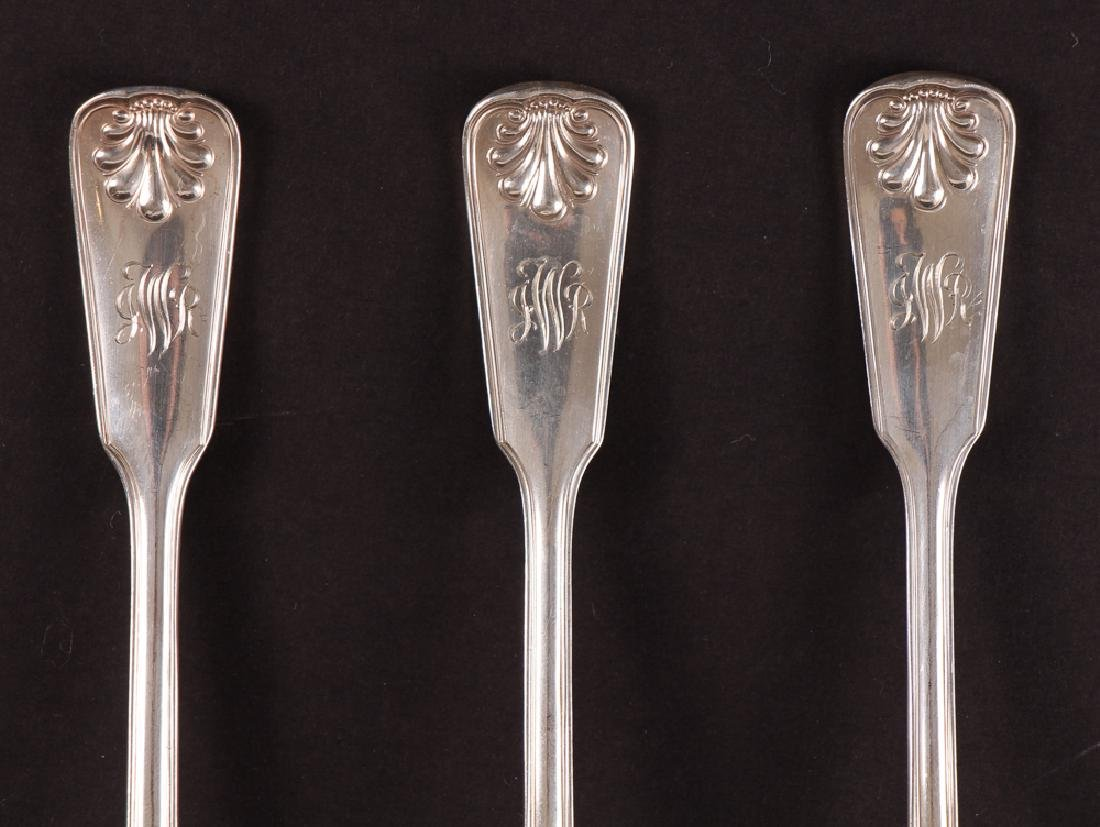 Tiffany Sterling Flatware Shell and Thread Pattern - 2