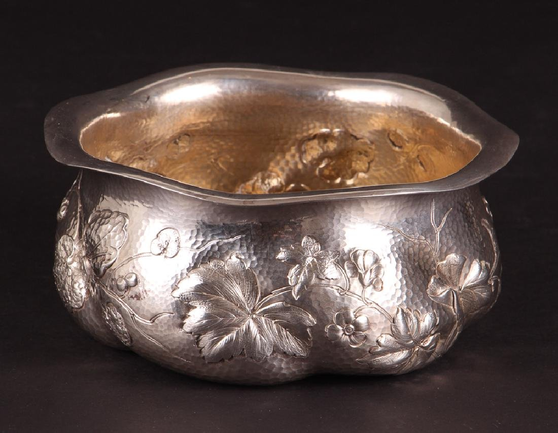 Dominick and Haff Hammered Sterling Bowl 1882