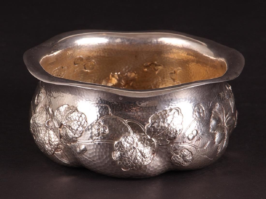Dominick and Haff Hammered Sterling Bowl 1882 - 2