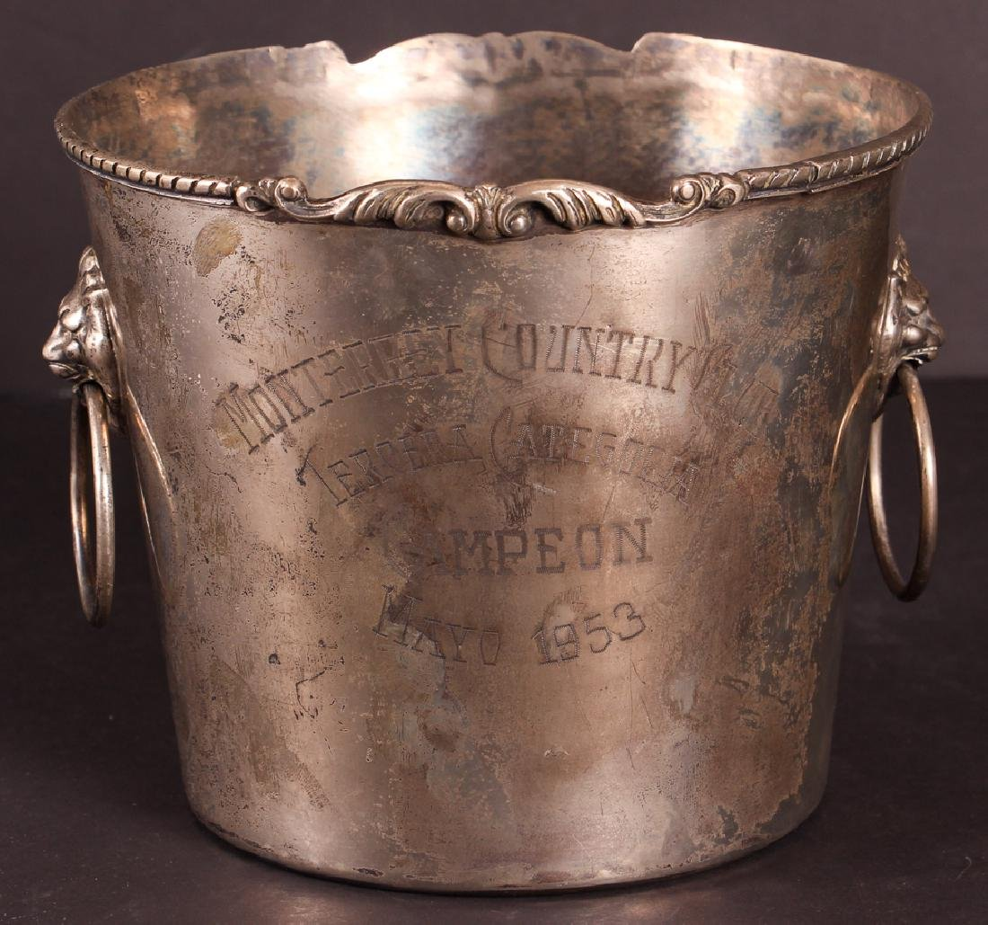 Monterrey Country Club Sterling Silver Ice Bucket