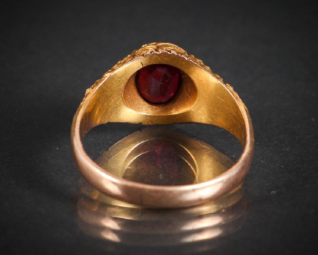 Victorian 14K Gold Ring - 3