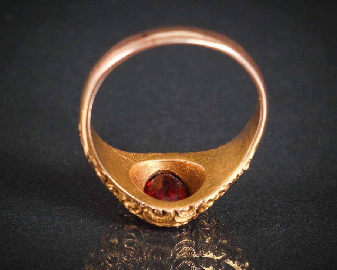 Victorian 14K Gold Ring - 6