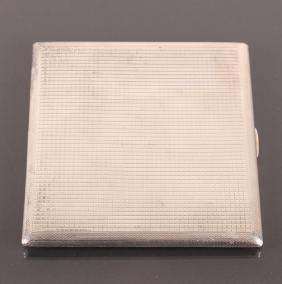 Dunhill Sterling Silver Cigarette Case