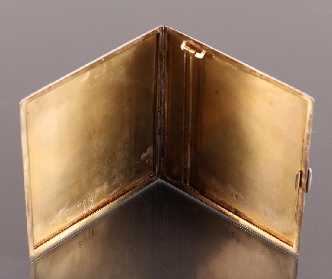 Dunhill Sterling Silver Cigarette Case - 2