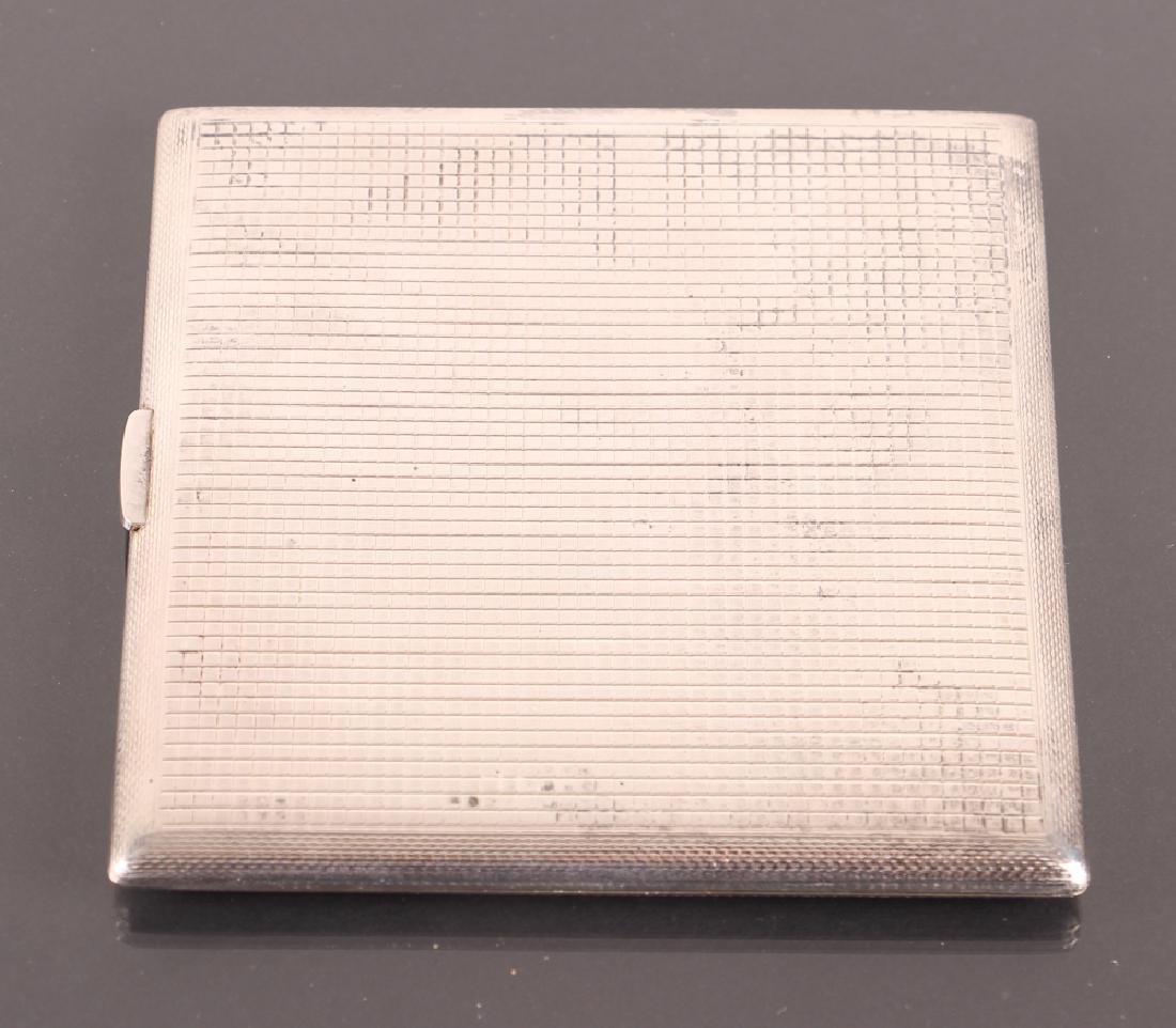 Dunhill Sterling Silver Cigarette Case - 6