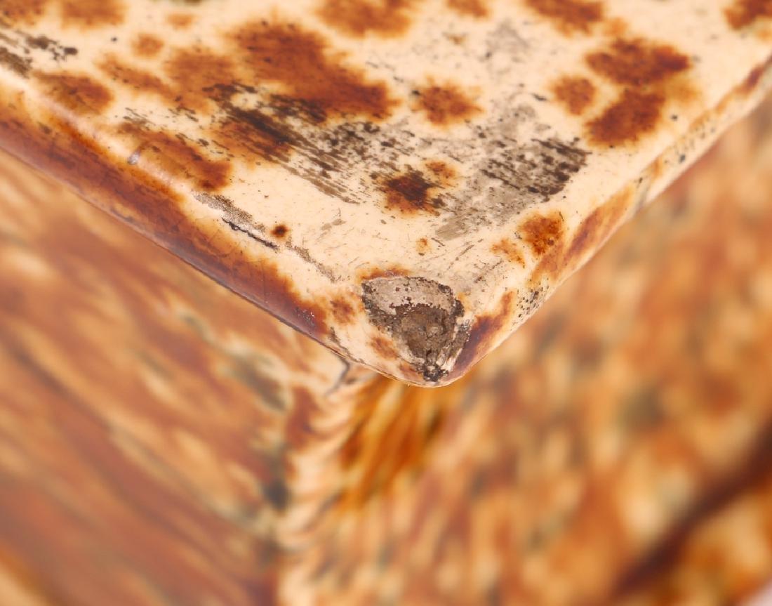 Bennington Flint Enamel Pottery Book Flask - 4