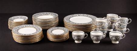 Wedgwood Black Florentine China Set