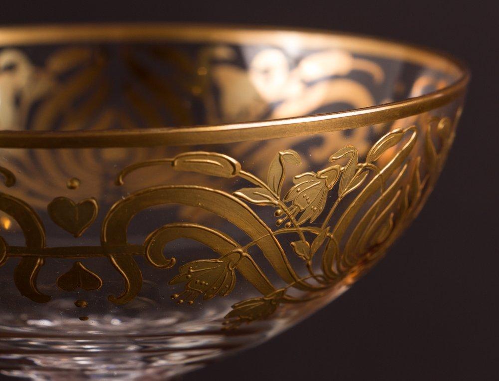 Two Venetian Glass Goblets - 6
