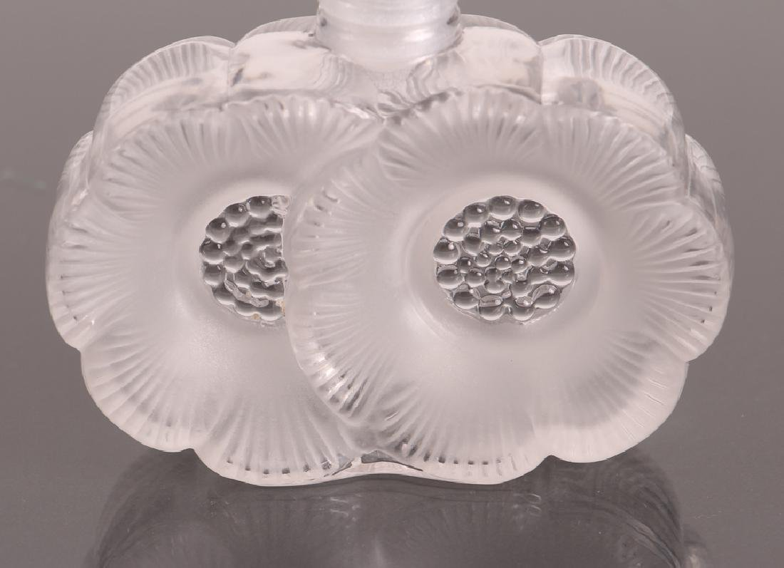 Two Signed Lalique Perfume Bottles - 4