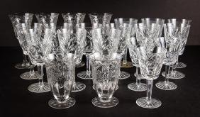 Collection Assorted Glassware including Waterford