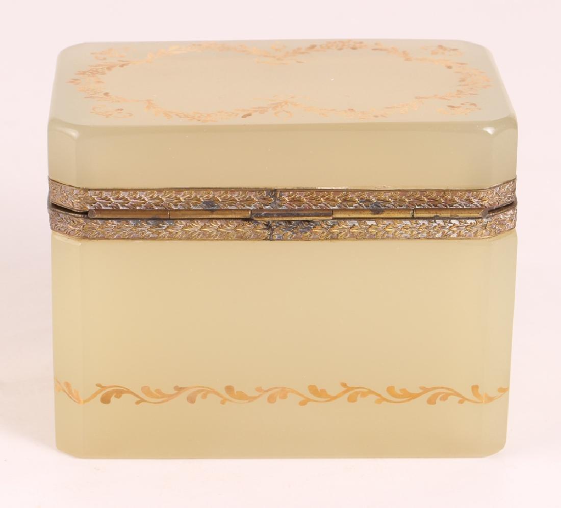 French Clambroth Opaline Box - 2