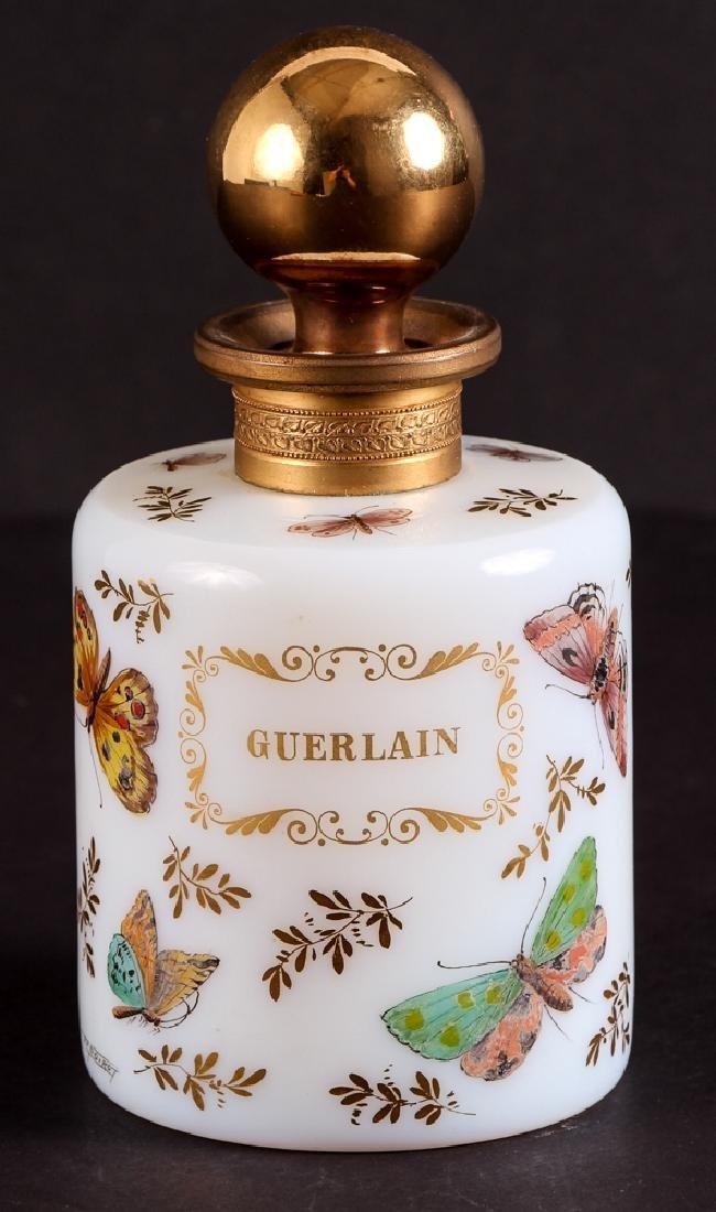 Guerlain Noirot Hand Painted Perfume Bottle