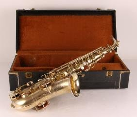 Martin Alto Saxophone and Case