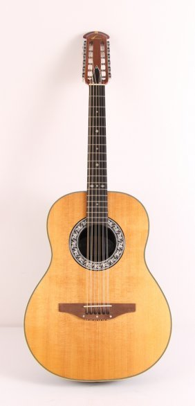 Ovation Twelve String Guitar and Case