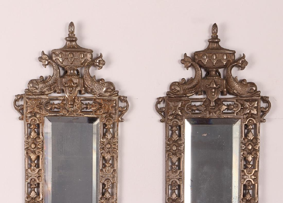 Bradley and Hubbard Mirrored Sconces - 2