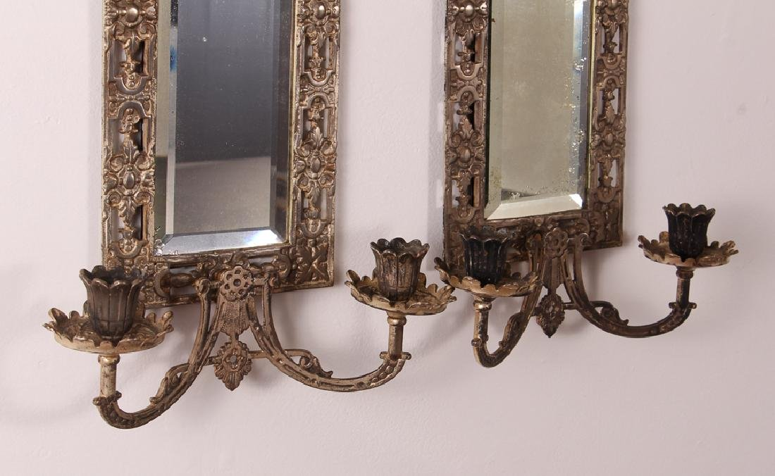 Bradley and Hubbard Mirrored Sconces - 3