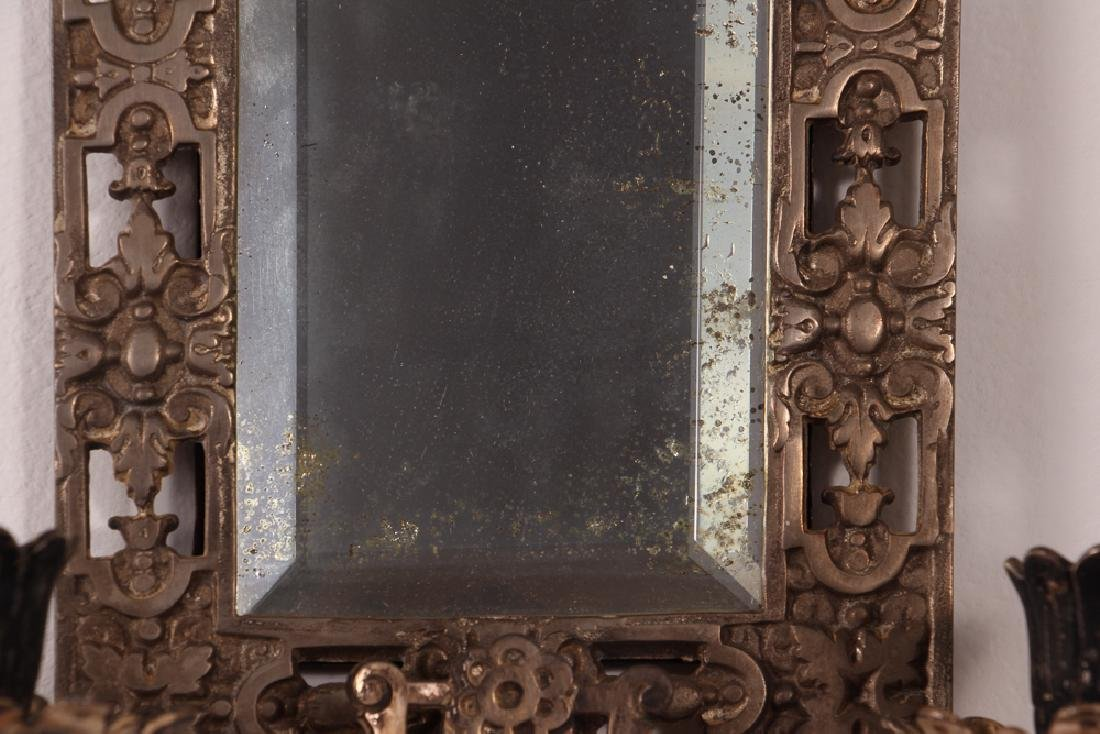 Bradley and Hubbard Mirrored Sconces - 4