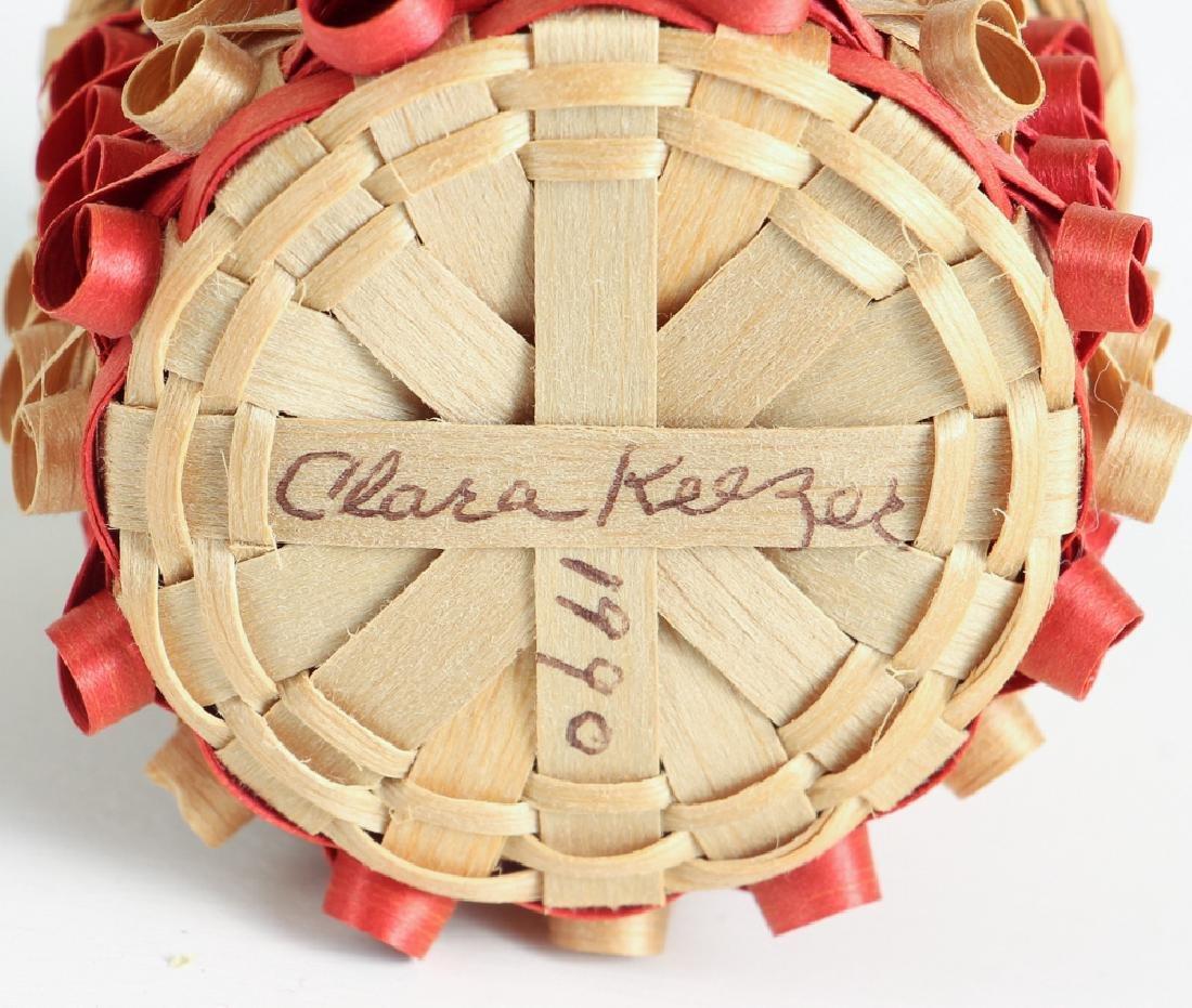 12 Miniature Woven Baskets - 3