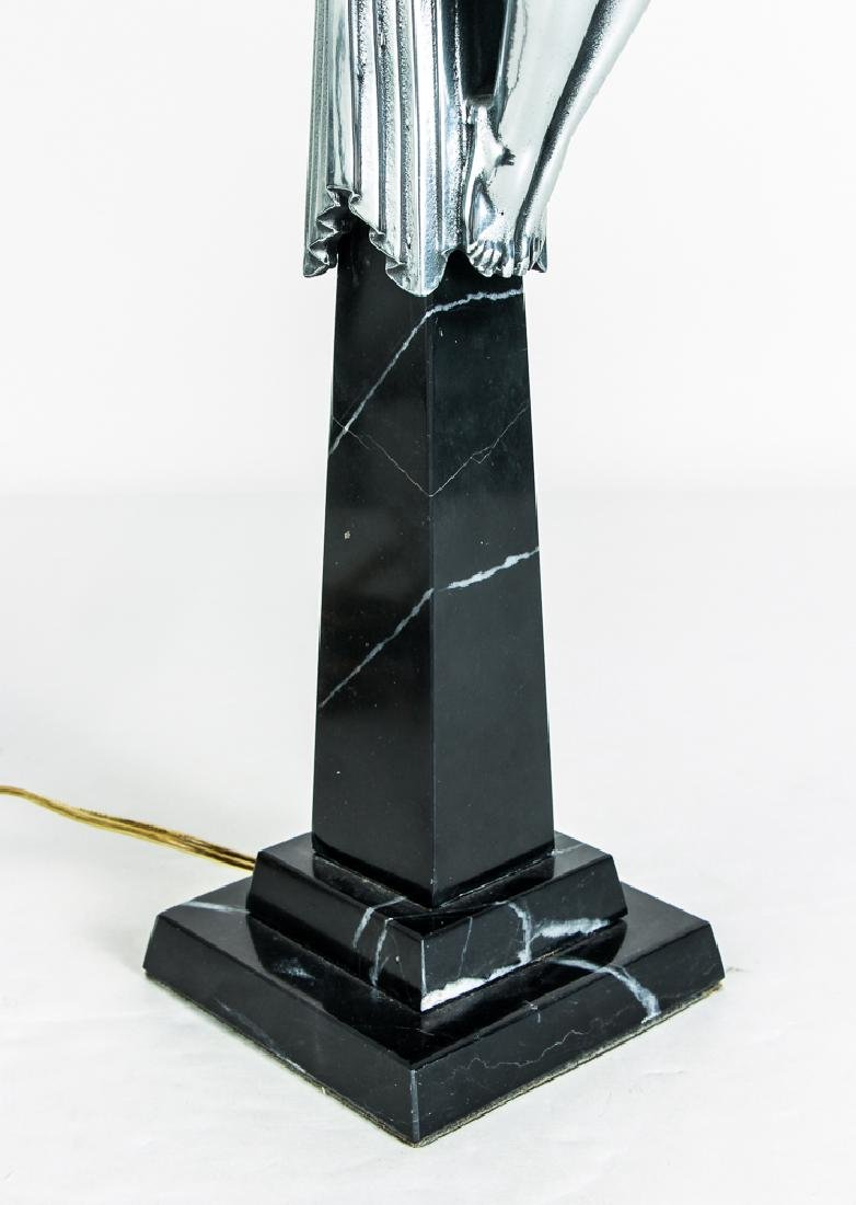 Two Art Deco Style Lamps - 9