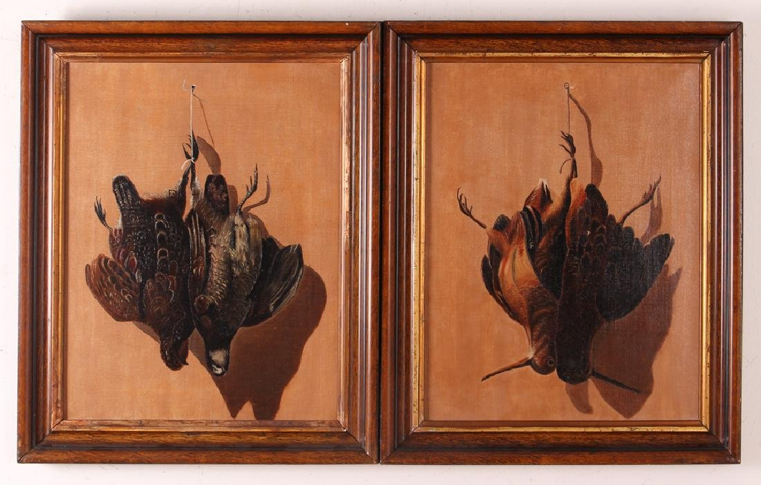 Pair Game Bird  Nature Morte Still Lifes