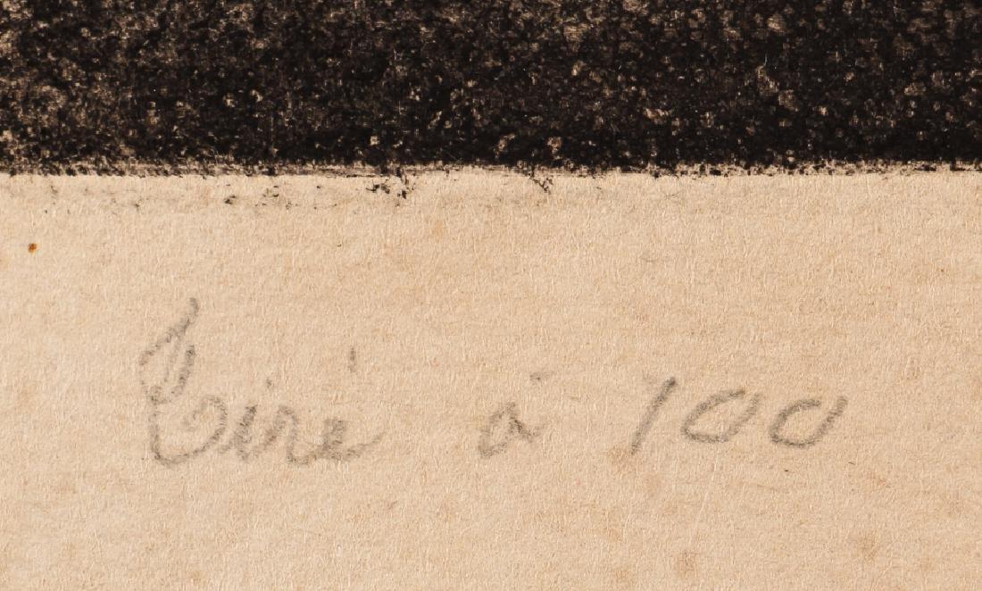 Paul-Albert Besnard 1886 etching La Misiere. - 3