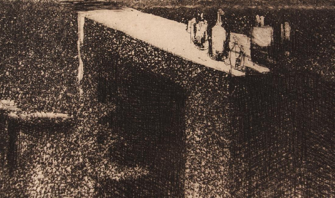 Paul-Albert Besnard 1886 etching La Misiere. - 5